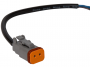 """6"""" Pigtail with Deutsch Connector - Heavy Duty Lighting"""