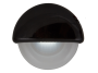 "2.25"" Half Round Interior Courtesy Light with Black Body - Heavy Duty Lighting (en-US)"