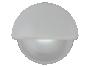 "2.25"" Half Round Interior Courtesy Light  with White Body - Heavy Duty Lighting (en-US)"