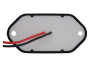 """2.6"""" Rectangular Utility Light Black body - Heavy Duty Lighting (en-US)"""