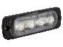 Ultra Thin White Surface Mount LED Strobe Lighthead - Heavy Duty Lighting (en-US)