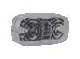 """4"""" Amber w/Clear Lens Double Bulls Eye Clearance Marker - Heavy Duty Lighting (en-US)"""