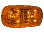 """4"""" Double Bulls Eye LED Clearance Marker - Heavy Duty Lighting (en-US)"""