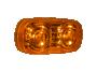 """4"""" Amber Lens Double Bulls Eye Clearance Marker - Heavy Duty Lighting (en-US)"""