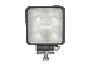 High Output Square Slim Line LED Work Light - Heavy Duty Lighting (en-US)