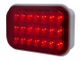 "5"" Rectangular Red Stop Tail Turn Light - Heavy Duty Lighting (en-US)"