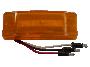 """2"""" x 6"""" Reflex Lens Surface Mount Turn Marker Light - Heavy Duty Lighting (en-US)"""