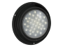 """7"""" Round Black Finish Interior Dome Light with On/Off Switch - Heavy Duty Lighting (en-US)"""