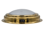 """7"""" Round Brass Interior Dome Light with On/Off Switch - Heavy Duty Lighting (en-US)"""