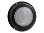 "7"" Round Black Finish Interior Dome Light with No Switch - Heavy Duty Lighting (en-US)"
