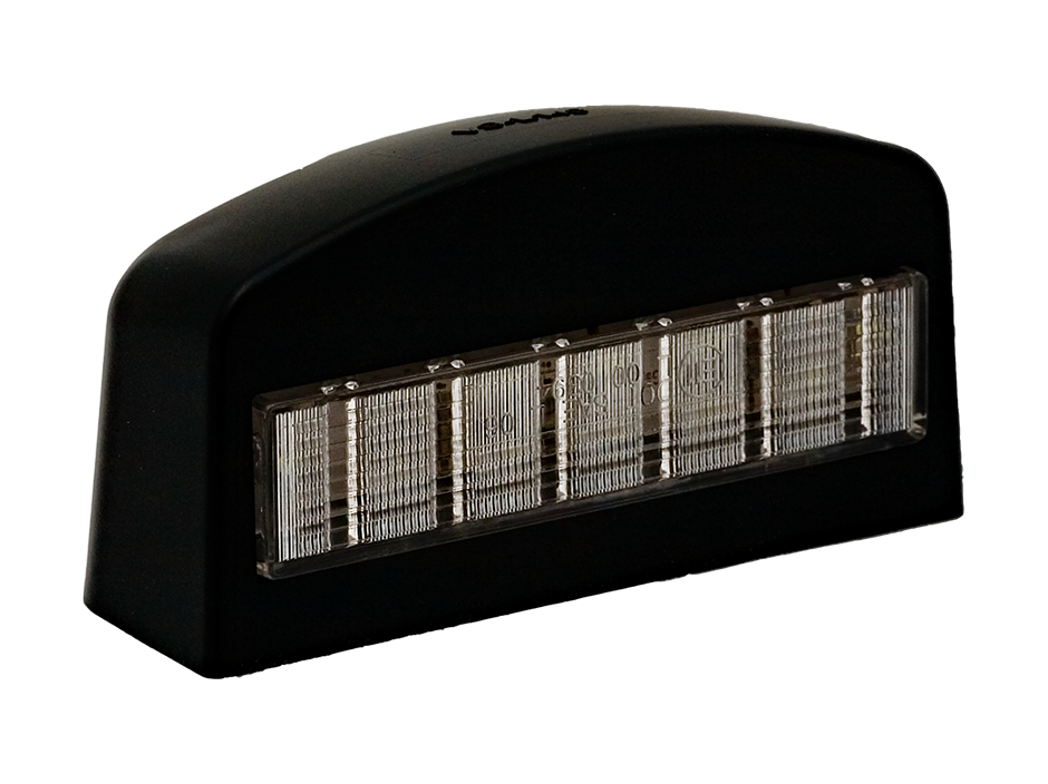 Black ABS LED License  Light - Heavy Duty Lighting (en-US) Products